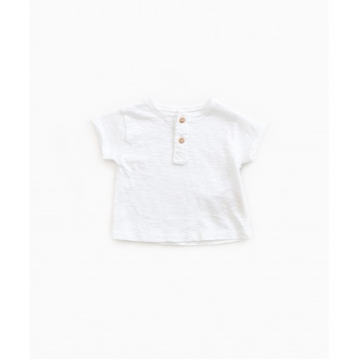 Camiseta blanca Play UP