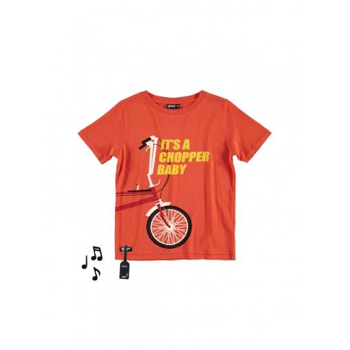 Camiseta con sonido chopper...
