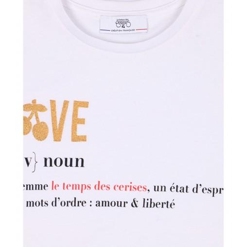 Camiseta Love Le temps