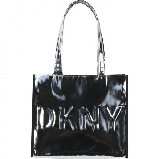 Bolso metalizado DKNY
