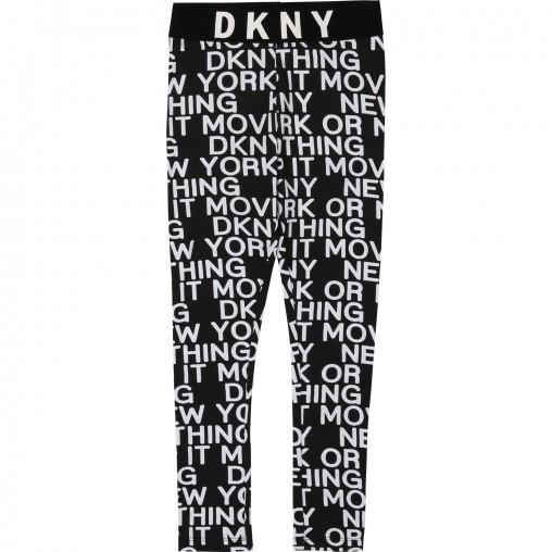 Leggings niña letras DKNY
