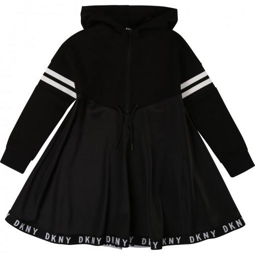 Vestido niña DKNY con capucha