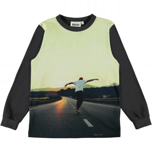 Camiseta niño Sunset skater...