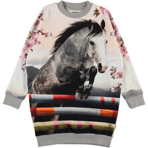 Vestido sudadera caballo...