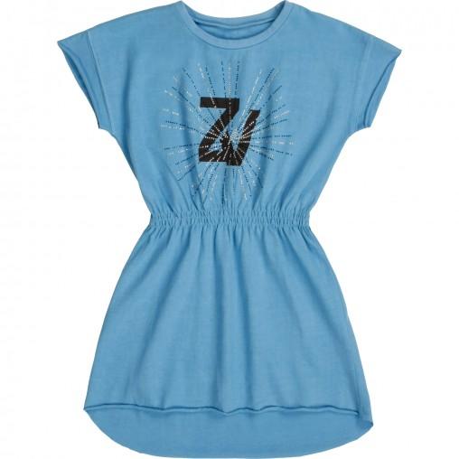 Vestido azul Zadig