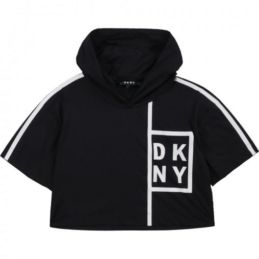 Camiseta con capucha DKNY