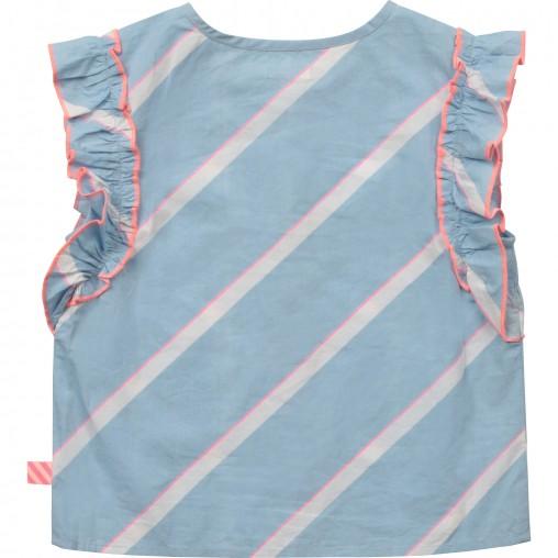 Blusa azul Billieblush