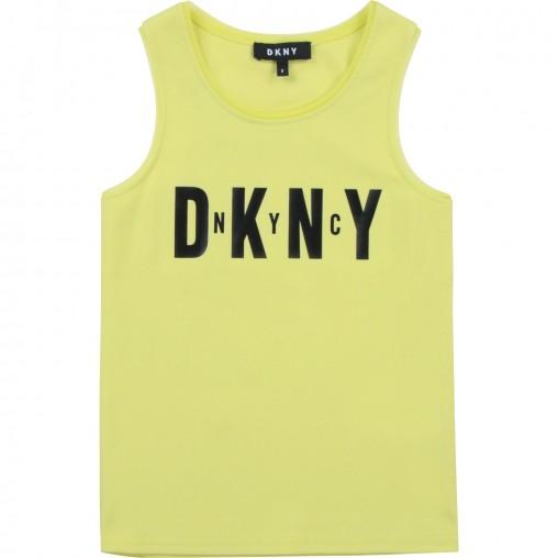 Camiseta amarilla DKNY