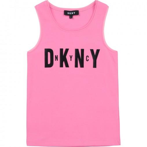 Camiseta rosa DKNY