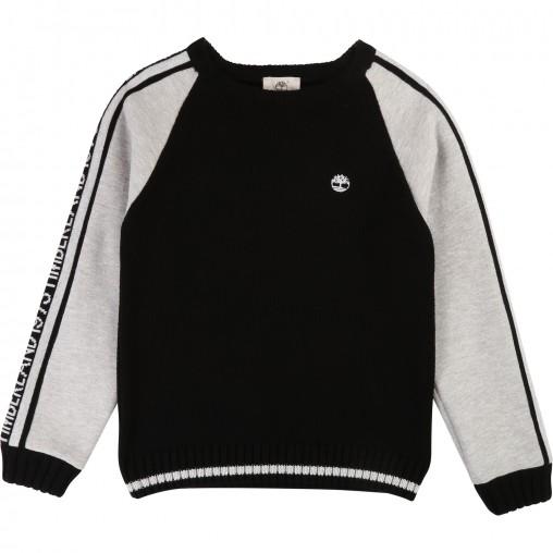 Jersey combinado tricot y...