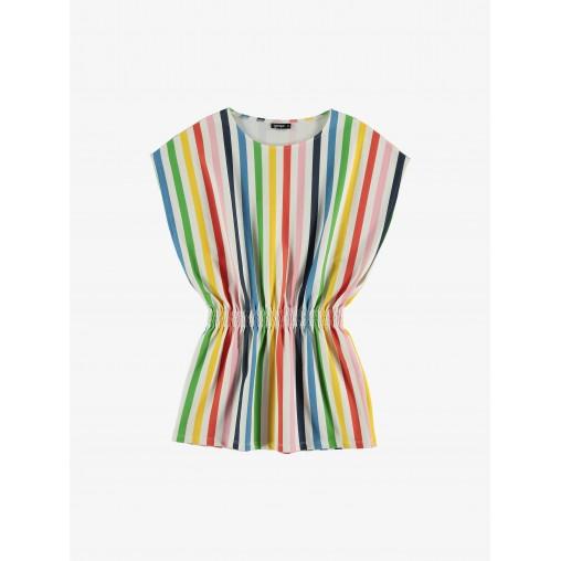Vestido rayas arcoiris Yporque