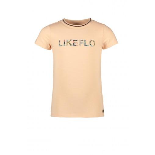 Camiseta salmón Like Flo