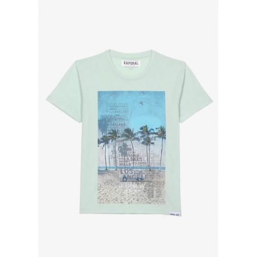 Camiseta palmeras Kaporal