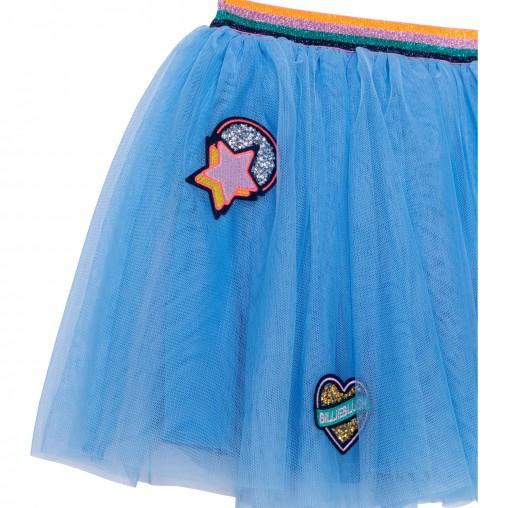 Falda tutú azul Billieblush