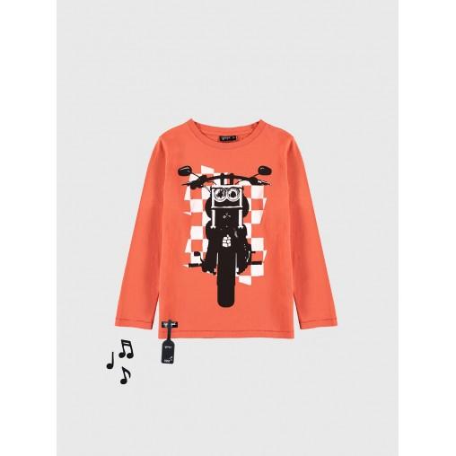 Camiseta sonido moto Yporque