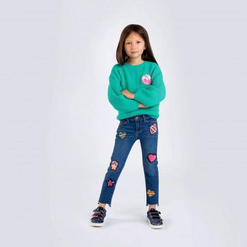 Jeans parches Billieblush