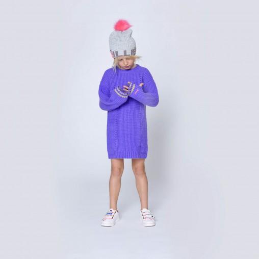 Vestido lila Billieblush