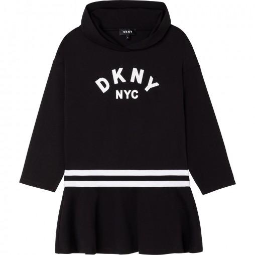Vestido con capucha niña DKNY