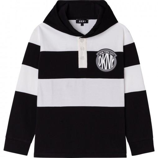 Camiseta capucha niño DKNY
