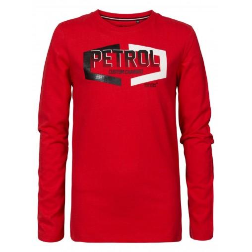 Camiseta roja niño Petrol