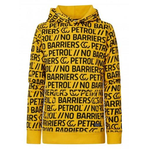 Sudadera letras amarilla...