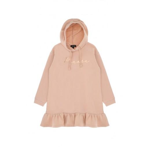 Vestido rosa palo niña Please