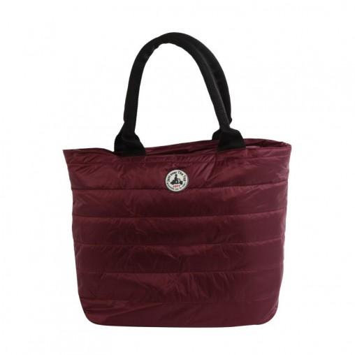 Shopping bag JOTT aubergine