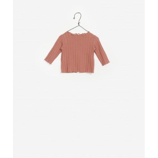 Camiseta rosa viejo de...