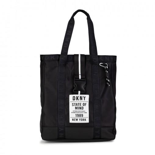 Bolso de mano + llavero DKNY