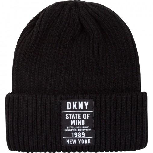 Gorro negro DKNY