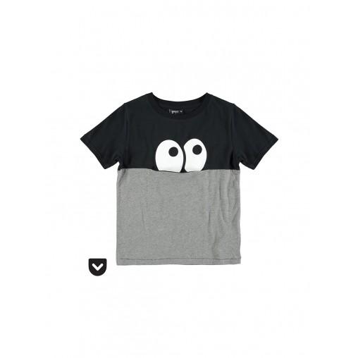 Camiseta ojos con bolsillo...