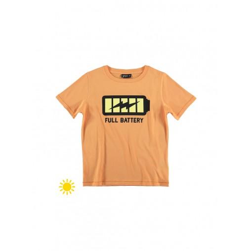 Camiseta solar Full battery...