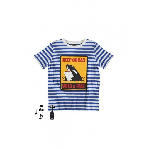 Camiseta con sonido de orca...