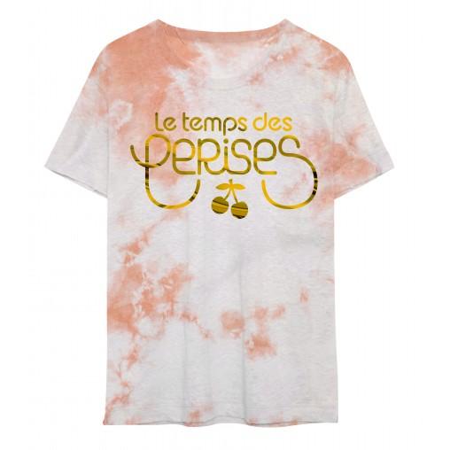 Camiseta rosa Le temps des...